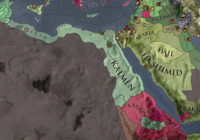 This is the Direct Vassals mapmode, not independent states. We are still vassals of Zaia Tulunid